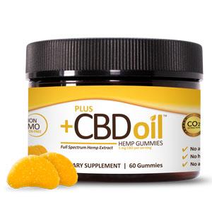 PlusCBD Gold Gummies Citrus 60