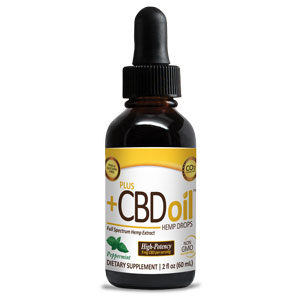 High Potency Gold CBD Oil